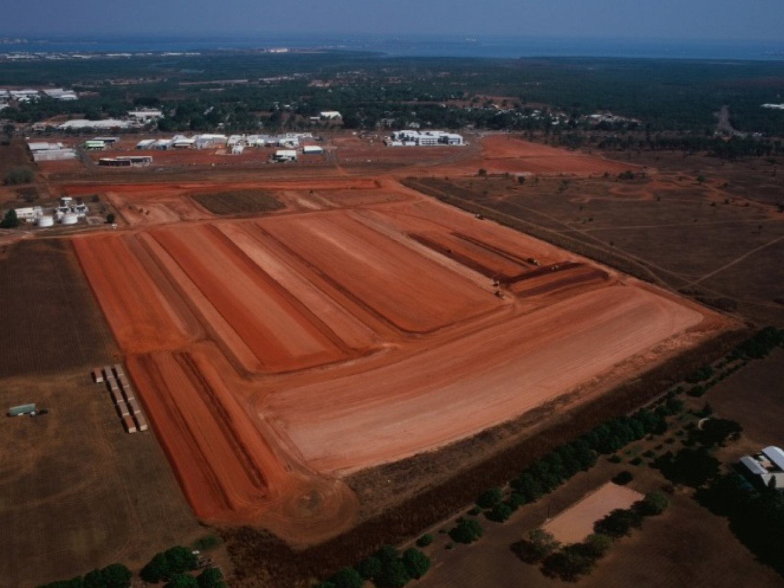 Berrimah North Development aerial shot