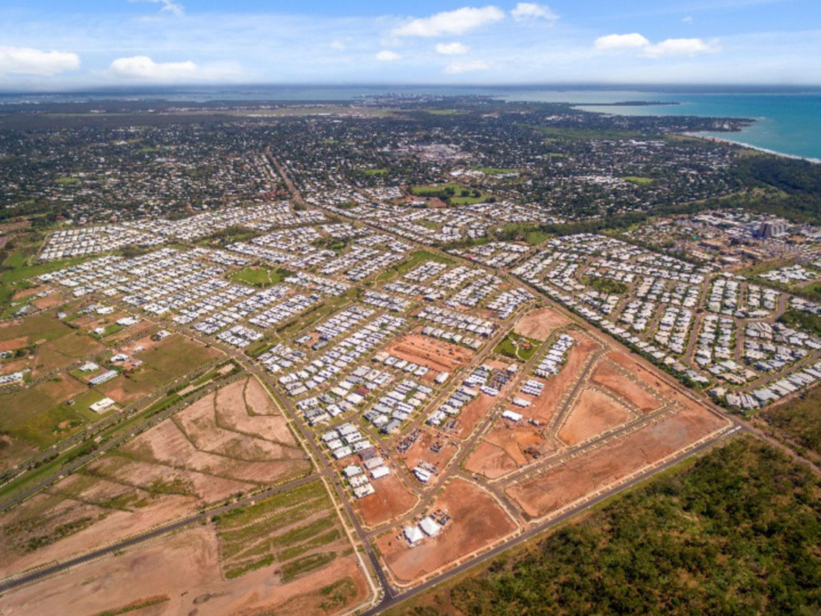 Muirhead Subdivision aerial shot