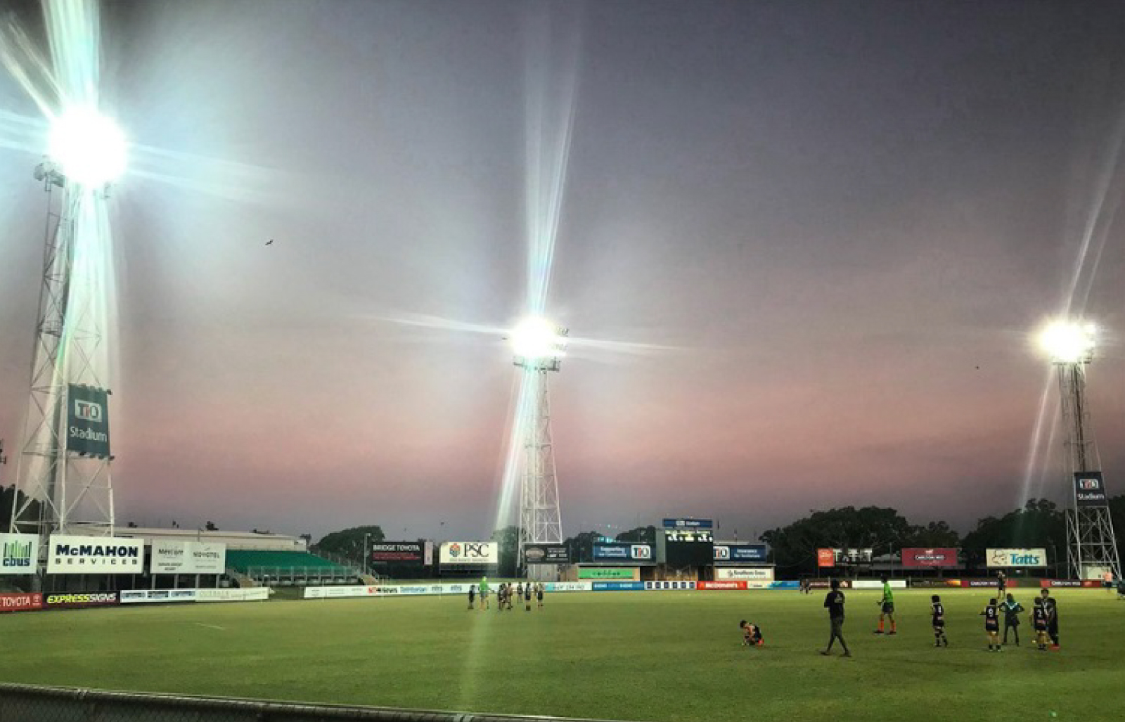 TIO Stadium Tower Lighting Upgrade