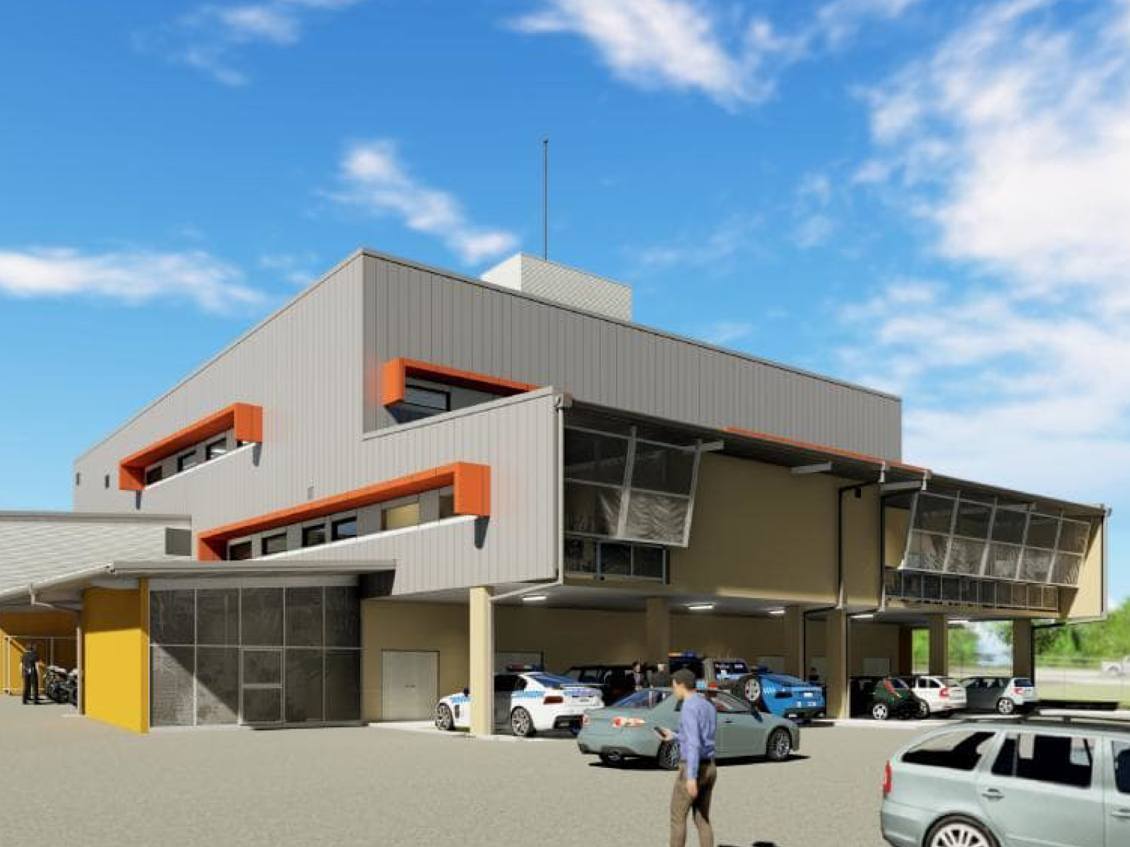 New Palmerston Police Station exterior view