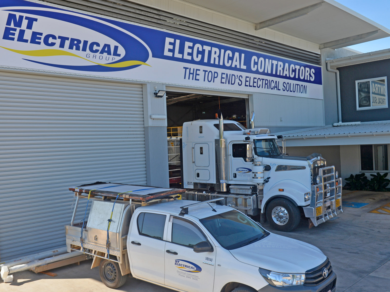 Our electrician shop in Darwin