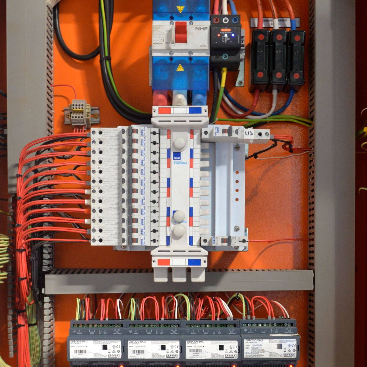 Equipment worked on by our industrial electrician in Berrimah